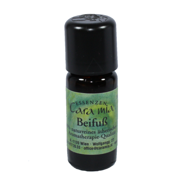 Beifuss Artemisia vulgaris 100% naturreines ätherisches Öl in Cara Mia Institut in Wien. Ätherische Öle, Seminare.