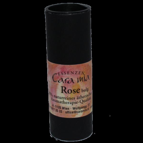 Rose bulgarisch Rosa damascena 100% naturreines ätherisches Öl in Cara Mia Institut in Wien. Ätherische Öle, Seminare.